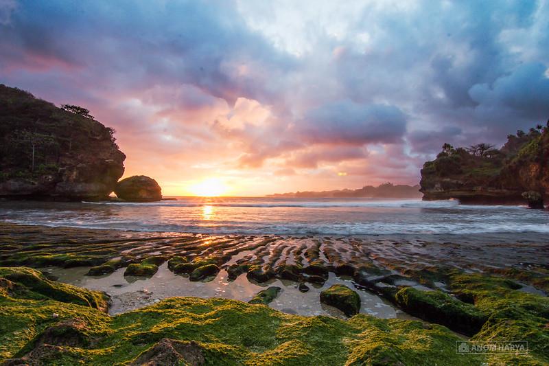 Sunset di Batu Bengkung