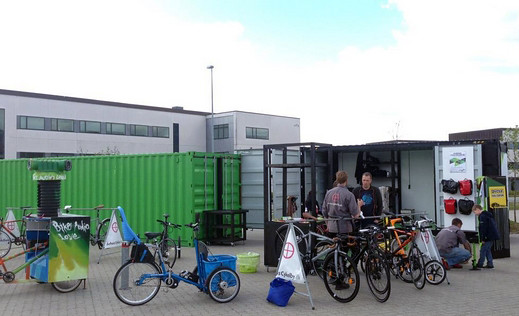 Aarhus opens mobile bicycle library