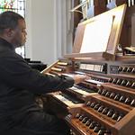Stan Jones, organist