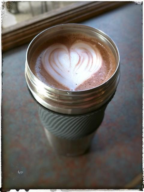 Mocha from Cafe Brioso