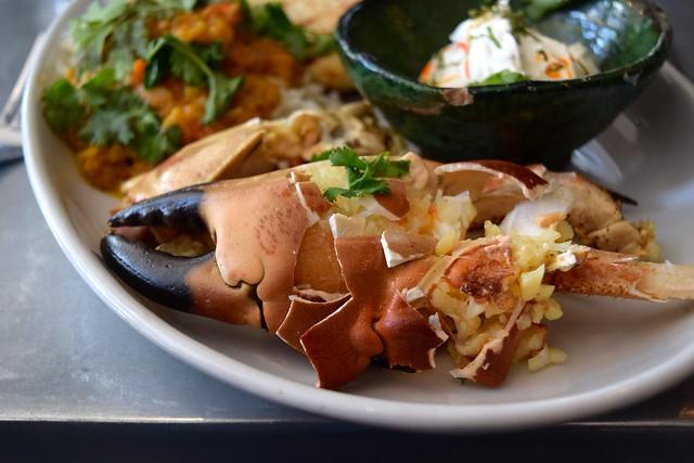 Coal Baked Crab Claws at John Doe, Westbourne Park | www.rachelphipps.com @rachelphipps
