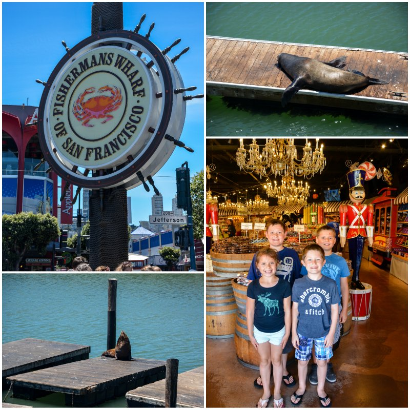 fisherman's wharf and pier 39