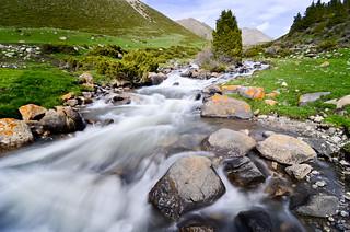 Gorgeous alpine river