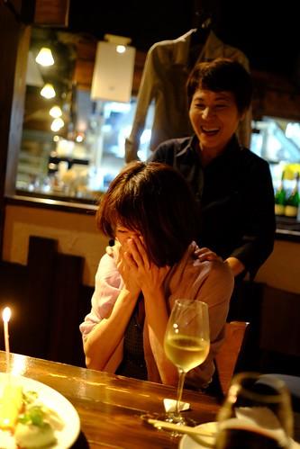 恵比寿alleeにてお誕生日