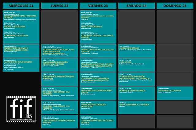 Programa FIF Puebla 2015