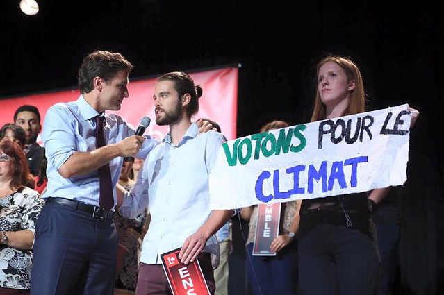 #ClimaELXN Actions During Canada's Federal Election (2015)