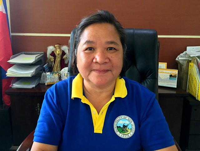 San Isidro Mayor Susan Yap Ang