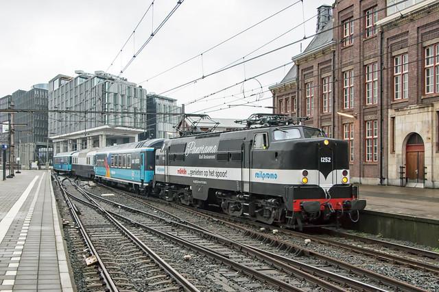 1252 met RailPromo Panorama Rail Restaurant te Amsterdam, 17 oktober 2015