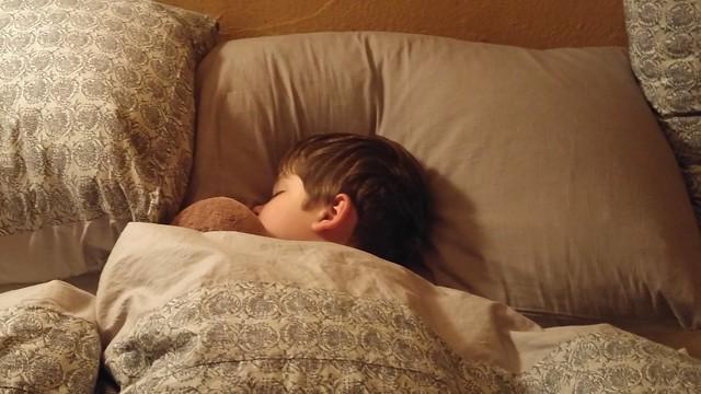 E and Monkey George are asleep.