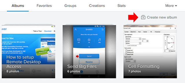 How to organize photos on flickr2