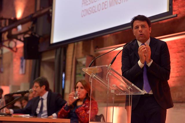 Matteo Renzi a San Giobbe