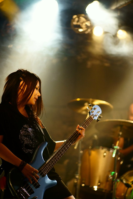 Bubble No.7 live at Outbreak, Tokyo, 20 Oct 2015. 017