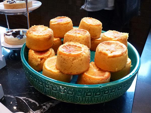 orange polenta cakes