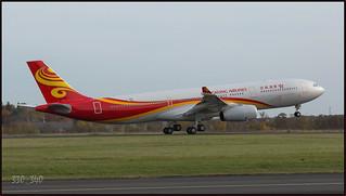 "Airbus A330-343 "" Hong Kong Airlines "" B-LNQ(F-WWCC) - sn 1668 / 4194"