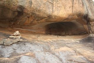 Silozwane Cave. Matopos National Park.