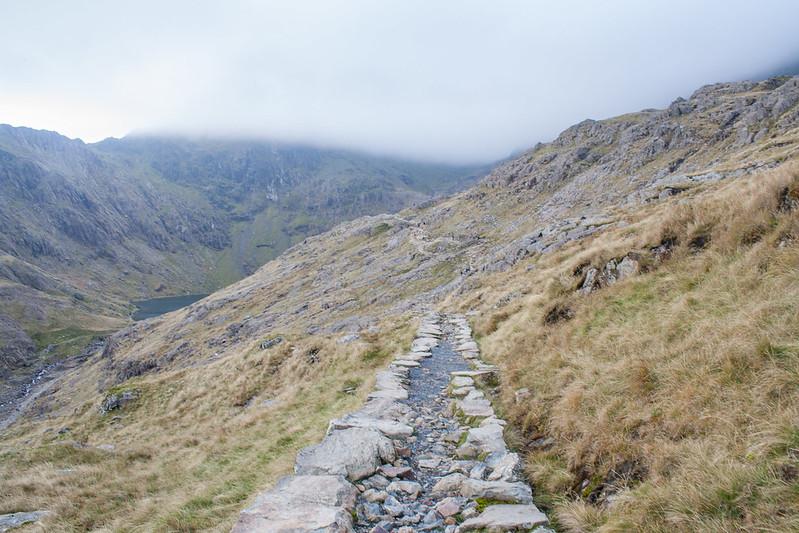 The Pyg track Snowdon