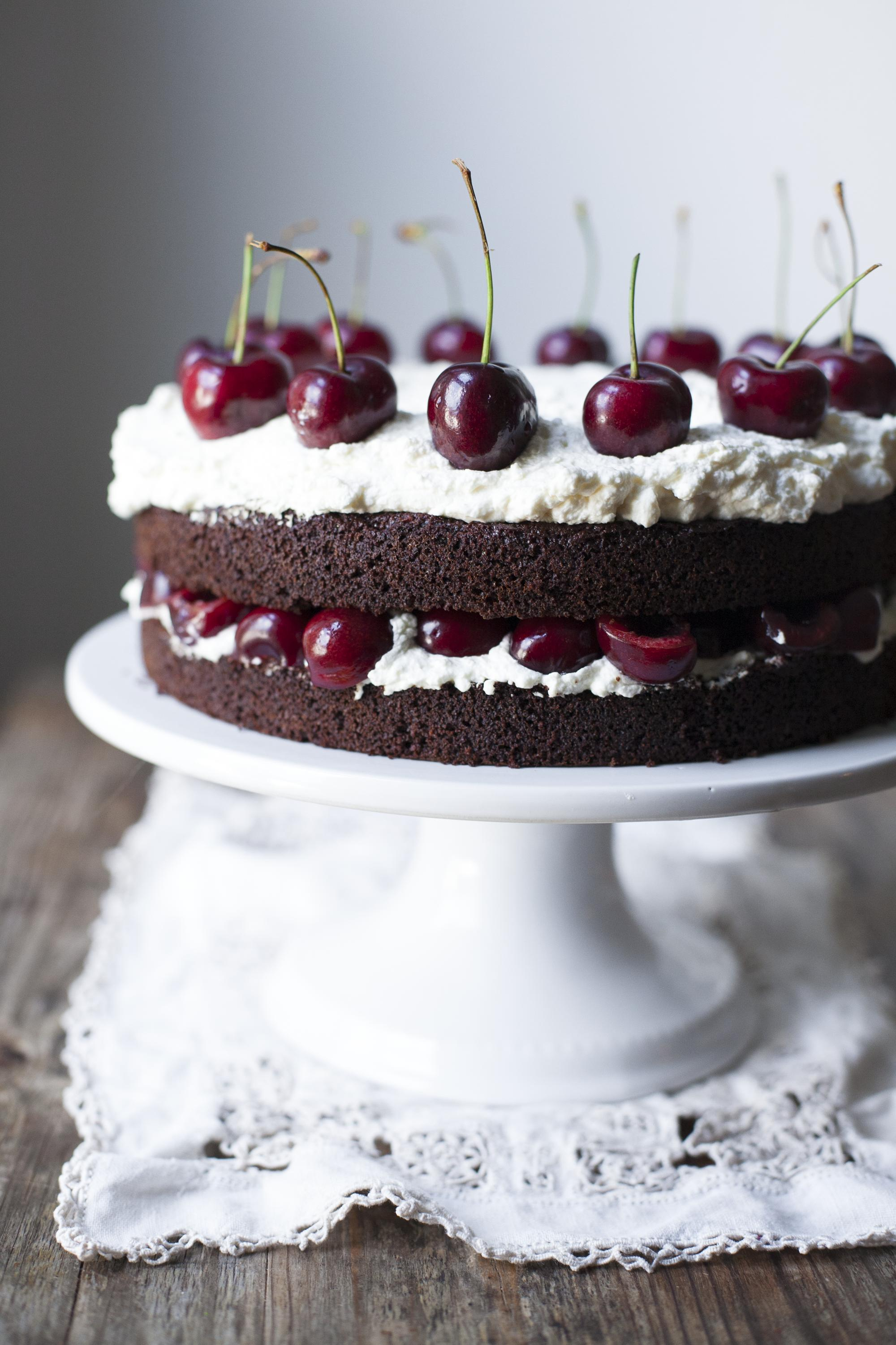 Black Forest Cake from Paleo Planet by Becky Winkler