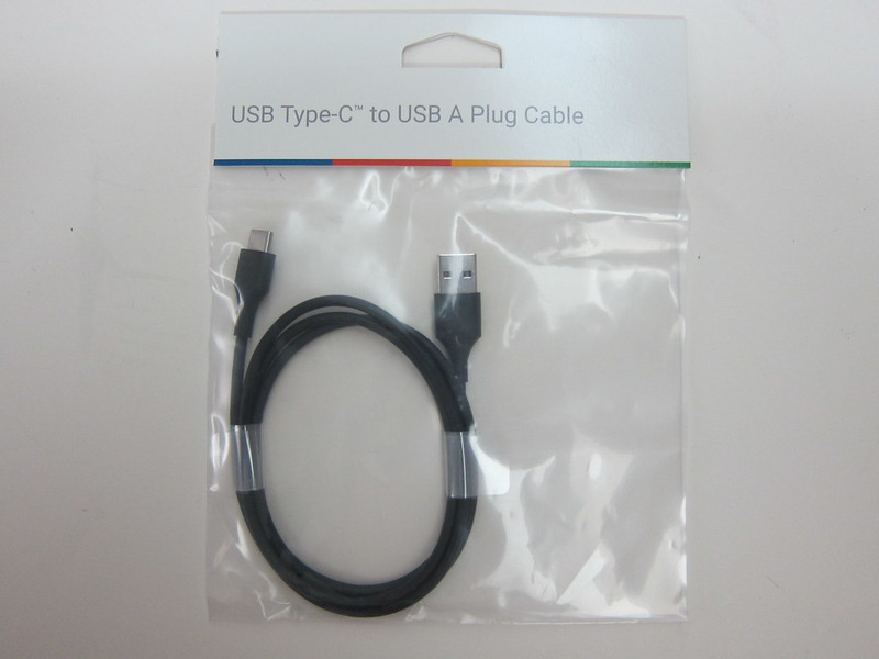 Google USB Type-C to USB Standard-A Plug Cable - Packaging Front