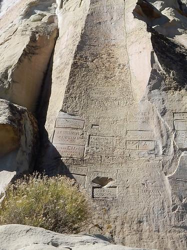 El Morro National Monument - inscripties