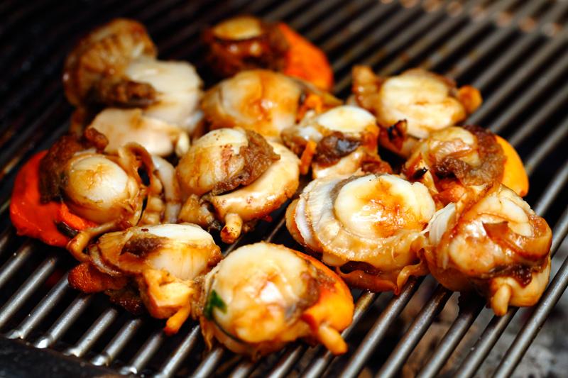 Kilo Grill Grilled Scallops