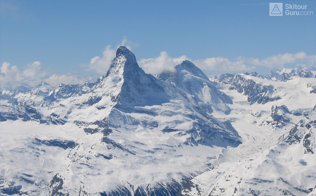 Matterhorn from Strahlhorn, Saas Fee, Wallis, Switzerland
