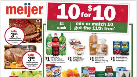 Meijer Sunday Update 11/29/2015