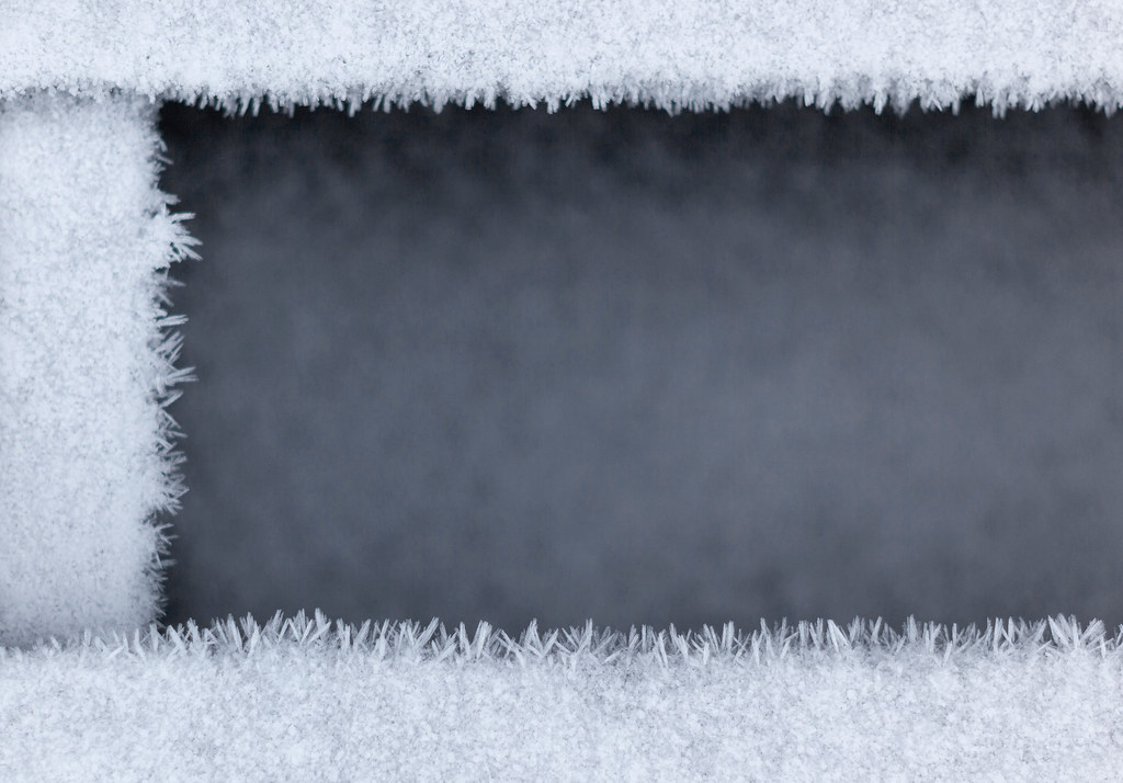 Mind Your Step | A thin layer of frost covering the pier at