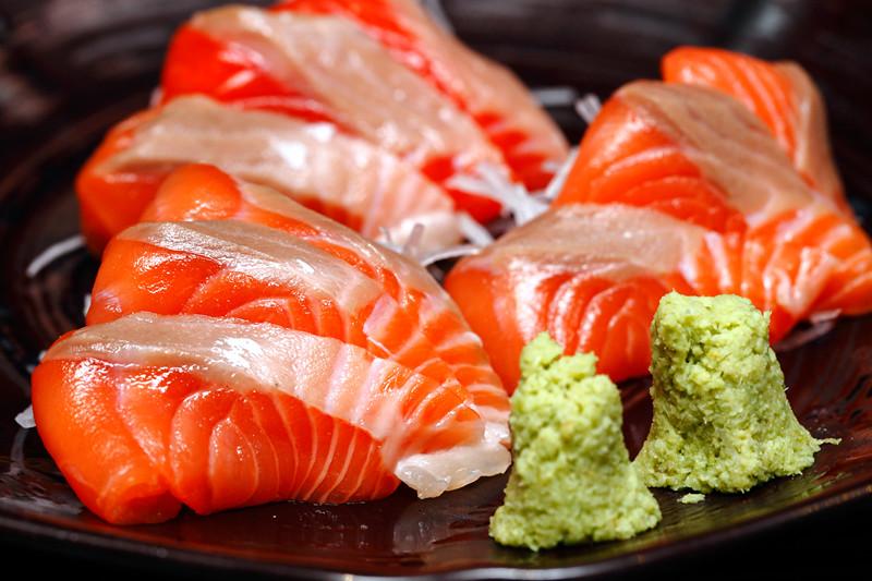 Kurata Salmon Sashimi