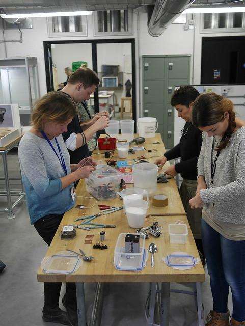 Electrolytic Etching Workshop - 2