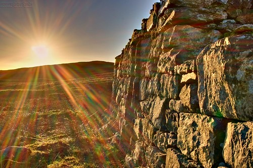 uk winter sunset house scotland unitedkingdom ruin croft shetland dickie bretto gbr crofthouse girlsta colindickie dickieimaging