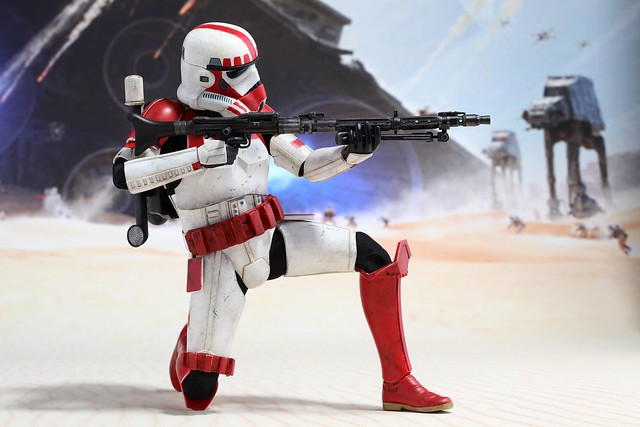 PlayStation®4 × Hot Toys【Shock Trooper】TOY SOUL 2015 限定 1/6 比例人偶作品