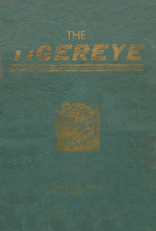 1934 Greenup County Yearbook