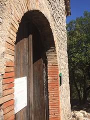 Doorway, chapel of Ste Maxime