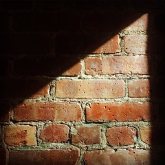 #morninglight ... #sundaymorning #morningglow #brickwall #sunlight #westvillage #mynyc
