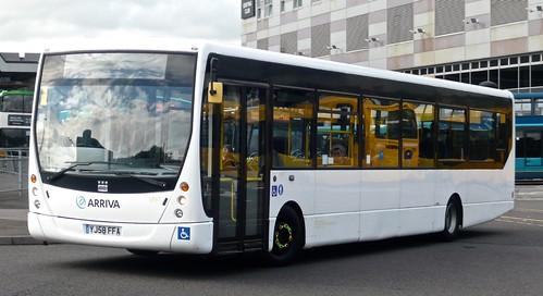 YJ58 FFA 'Arriva Midlands' No. 5997 VDL SB200 / Plaxton Centro on 'Dennis Basford's railsroadsrunways.blogspot.co.uk'