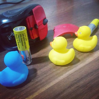 Mouse battery replacement team #toys #ducks #technology