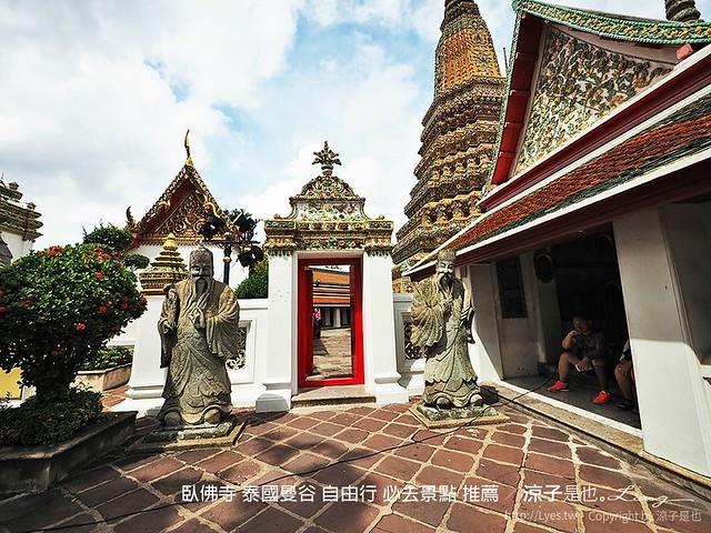 臥佛寺 泰國曼谷 自由行 必去景點 推薦 66