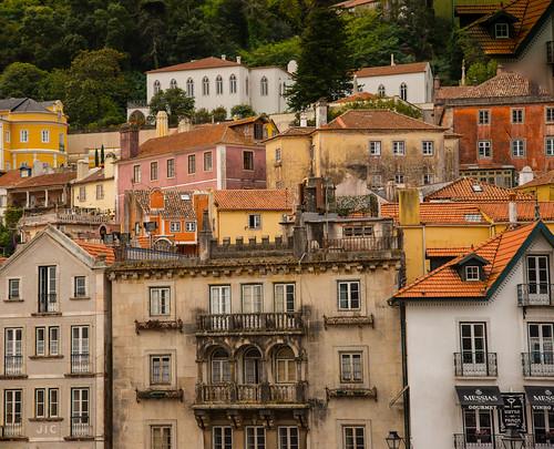 Pretty houses, Sintra, Portugal.