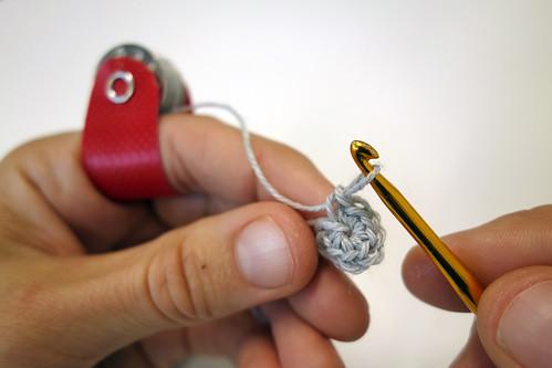 Bobbin ring crochet