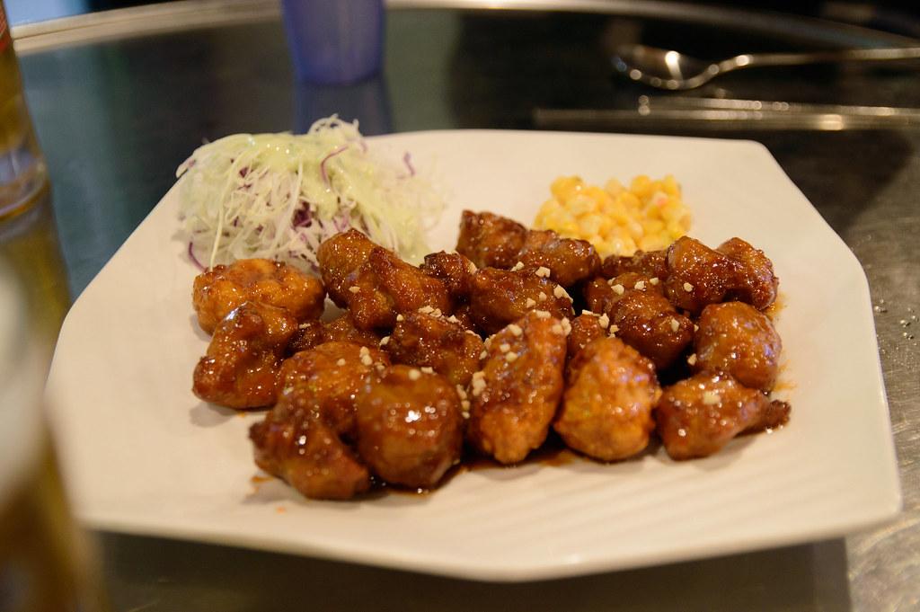 Spice chicken / 양념치킨