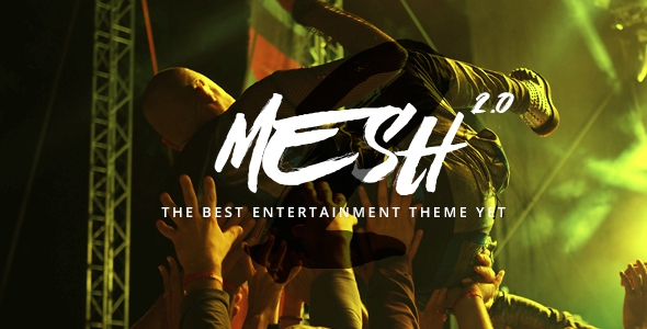 MESH v2.1.0 – Music, Band, Musician, Event, Club Theme