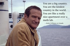 I agree.  Nonetheless, Seattle does not feel that different from Canada, hence, why I love living here. ☺  #robinwilliams #ocanada #northamerica #gonebutnotforgotten