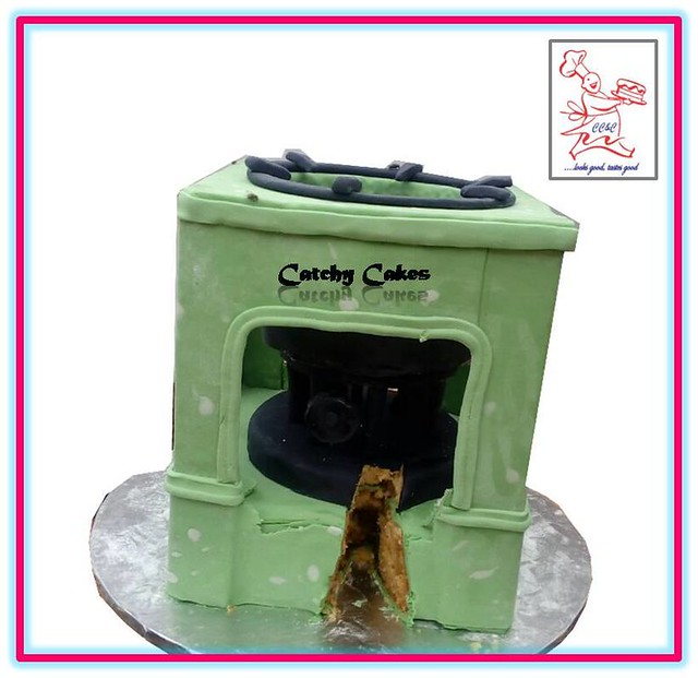 Cake by Fadipe Daniel OLumide of Catchy Cakes & Confectionery