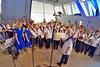 Der Chor der Banater Schwaben Karlsruhe, am Klavier Bruno Scarambone