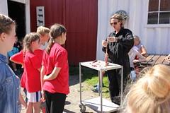 4H Matskole 2015, Vitengarden på Kvia