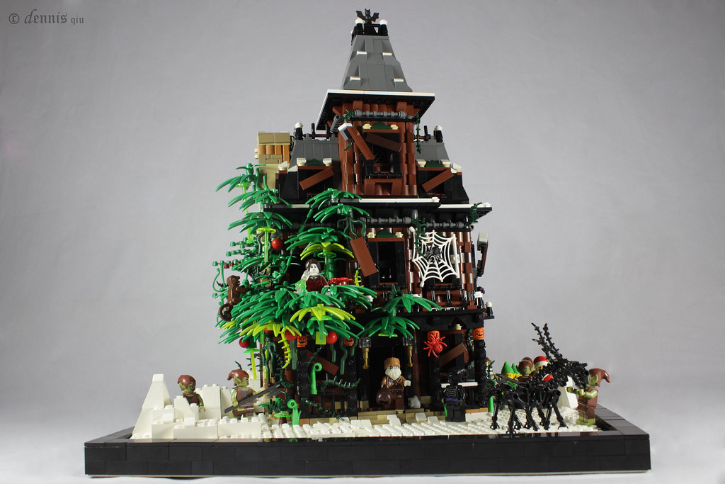 MOC - haunted house