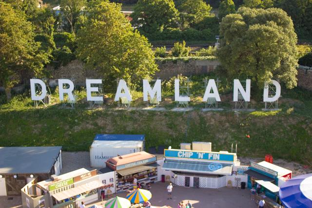 Visting Dreamland Margate