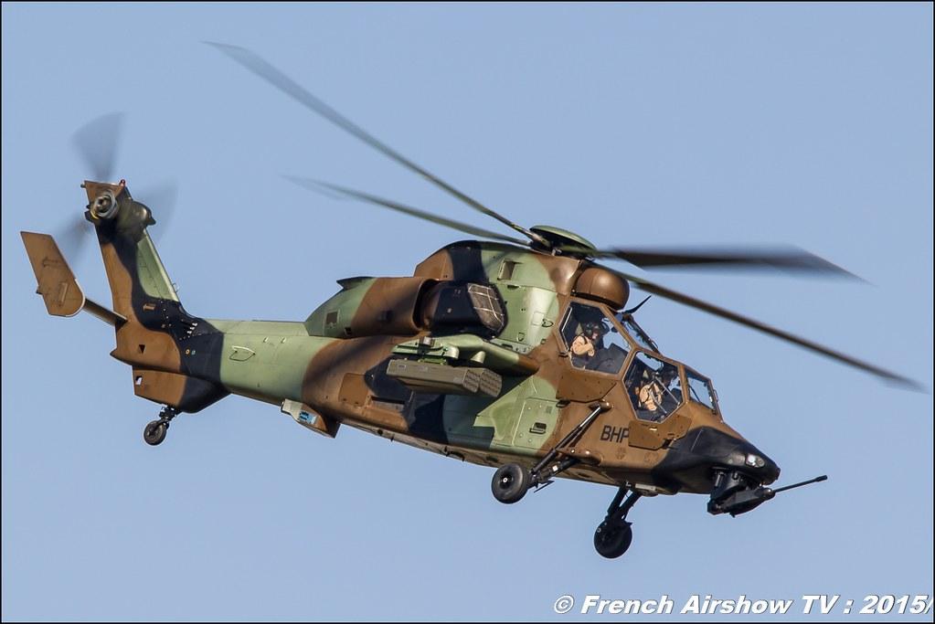 EC-665 Tigre, Airbus Hélicoptere ,Eurocopter , ALAT ,Tigre HAP BHP, WAC 2015 France, Bleuciel Airshow 2015, Championnat du monde de Voltige aérienne, 28th FAI World Aerobatic Championships 2015 , Meeting Aerien 2015