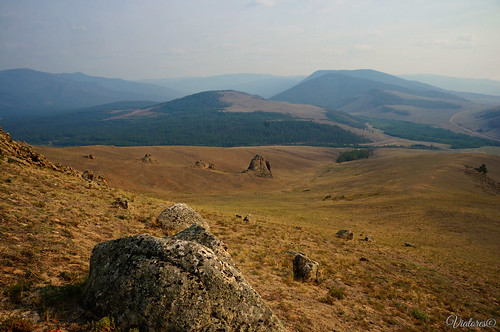 Баргузинская долина. Сувинская саксония. Suvinskaya Saxonia. Buryatia. Russia