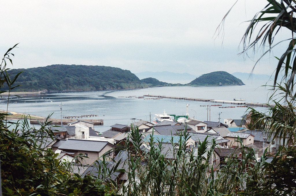 相島 Ainoshima, Fukuoka 2015/09/02 終於走完一圈,看到原本的港口。  Nikon FM2 / 50mm Kodak UltraMax ISO400 Photo by Toomore